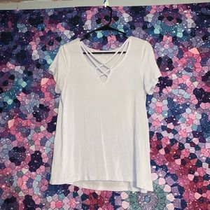 AE Soft & Sexy T-shirt with crisscross